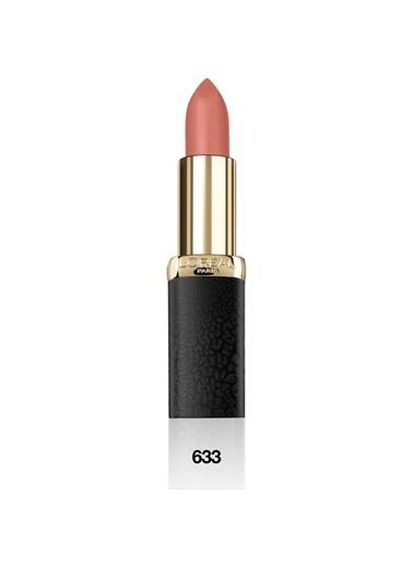 L'Oréal Paris Color Riche Matte Addiction Ruj 633 Moka Chic- Nude Kahve